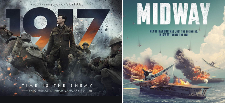 Lessons From The Recent War films 1917 and Midway